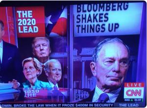 Where's Bernie? Bloomberg Enters