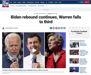 Fox omits Bernie in 2nd